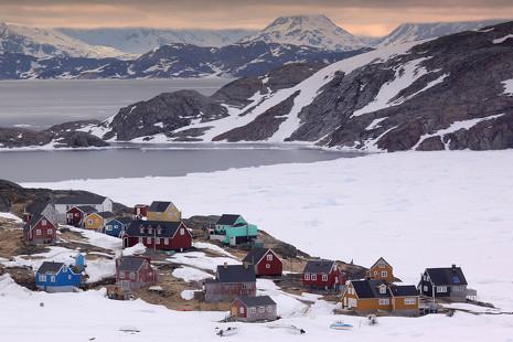 'Profesor en Groenlandia': un año en el paraíso esquimal de las auroras boreales