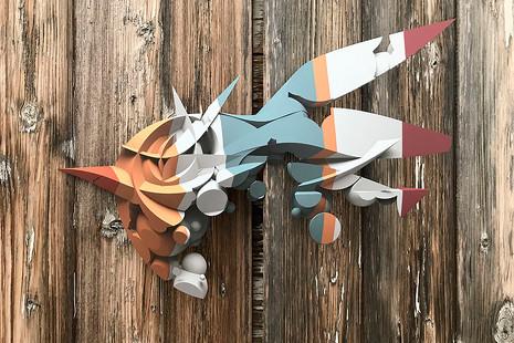Peeta, el artista que transforma los edificios en alucinaciones en 3D