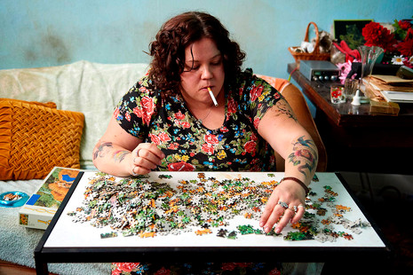 'Ray & Liz': Richard Billingham muestra un retrato familiar rodeado de miseria
