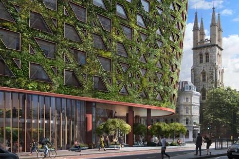 El primer hotel árbol: el Citicape House absorberá 8 toneladas de contaminación al año