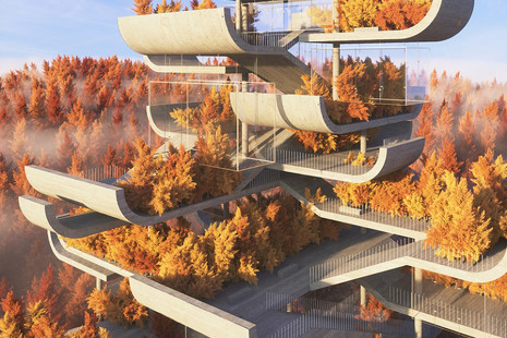 Pagodas futuristas: así será la arquitectura tradicional china del siglo XXI